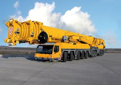 بلندترین و قویترین جرثقیل پشت کامیونی دنیا